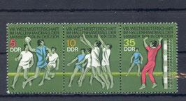 DDR 1928-1930 postfrisch als Dreierstreifen
