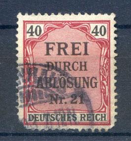 Deutsches Reich DIENST 7 gestempelt
