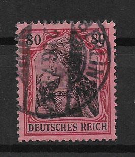 Deutsches Reich GERMANIA o. WZ 77 gestempelt (II)