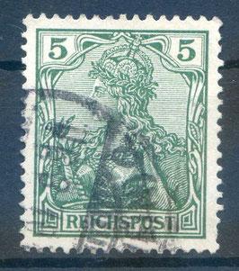 Deutsches Reich REICHSPOST 55 gestempelt (2)