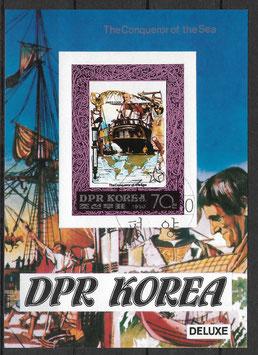 Nordkorea Block 72 gestempelt