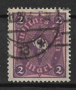 Deutsches Reich FREIMARKE 191 gestempelt