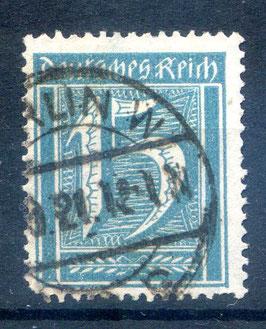Deutsches Reich FREIMARKE 160 gestempelt