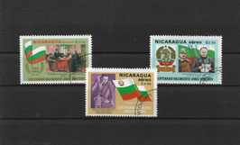 NICARAGUA 2300-2302 gestempelt