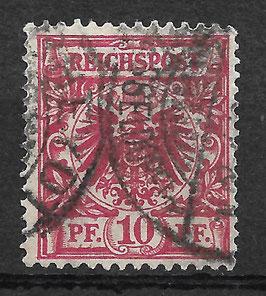 Deutsches Reich KRONE/ADLER 47d gestempelt (BPP WIEGAND) (3)