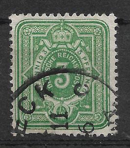 Deutsches Reich PFENNIG 39 Ia gestempelt (BPP WIEGAND) (VI)
