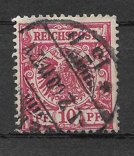 Deutsches Reich KRONE/ADLER 47da gestempelt (BPP WIEGAND)