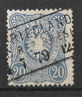 Deutsches Reich PFENNIGE 34a gestempelt (BPP WIEGAND) (V)
