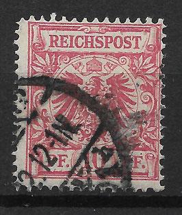 Deutsches Reich KRONE/ADLER 47b gestempelt (BPP JÄSCHKE) (IV)