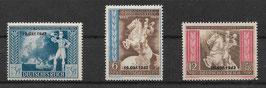 Deutsches Reich POST- und FERNMELDEVEREIN 823-825 postfrisch (2)