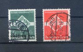 Deutsches Reich REICHSBERUFSWETTKAMPF 571-572 gestempelt (3)