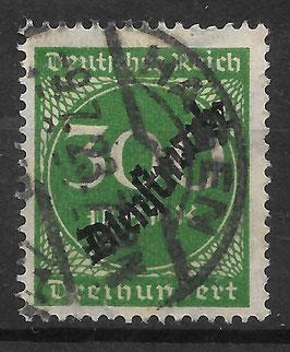 Deutsches Reich DIENST 79 gestempelt
