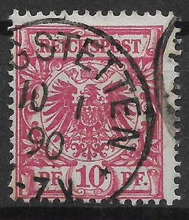 Deutsches Reich KRONE/ADLER 47a gestempelt (BPP WIEGAND)