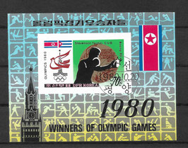 Nordkorea Block 84 gestempelt