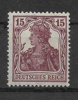 Deutsches Reich GERMANIA 142a postfrisch (BPP BAUER)