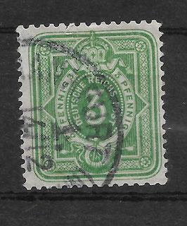 Deutsches Reich PFENNIG 39 Ib gestempelt (BPP WIEGAND) (VII)