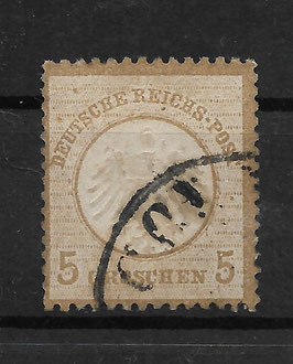 Deutsches Reich BRUSTSCHILD 6 gestempelt (BPP KRUG) (6)