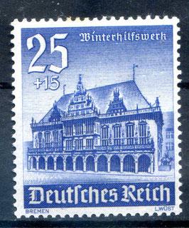 DR WINTERHILFSWERK BAUWERKE 758 postfrisch