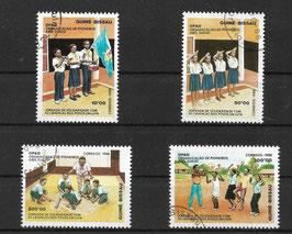 GUINEA-BISSAU 996-999 gestempelt