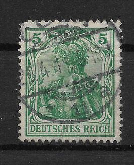 Deutsches Reich GERMANIA 85 Ia gestempelt (BPP JÄSCHKE) (III)