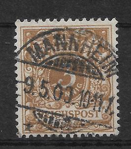 Deutsches Reich KRONE/ADLER 45c gestempelt (BPP WIEGAND) (II)