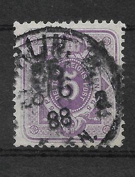 Deutsches Reich PFENNIG 40 II gestempelt (BPP WIEGAND) (IV)