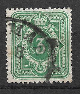Deutsches Reich PFENNIGE 31a gestempelt (BPP JÄSCHKE)