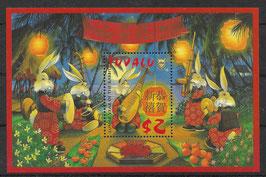 TUVALU Block 66 postfrisch