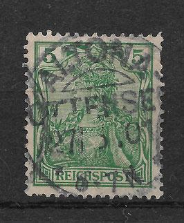 Deutsches Reich REICHSPOST 55 gestempelt (IV)