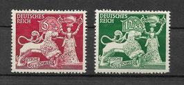 Deutsches Reich 816-817 ungebraucht