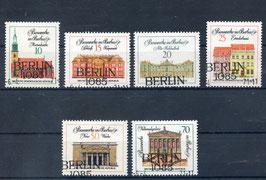 DDR 1661-1666 gestempelt