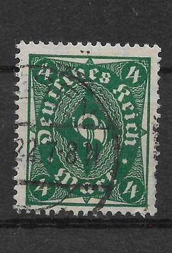Deutsches Reich FREIMARKE POSTHORN 226a gestempelt (INFLA) (2)