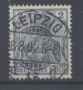 Deutsches Reich GERMANIA o. WZ 68 gestempelt (IV)