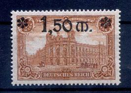 Deutsches Reich GERMANIA 117 ungebraucht