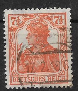 Deutsches Reich GERMANIA 99a gestempelt (BPP BAUER) (4)