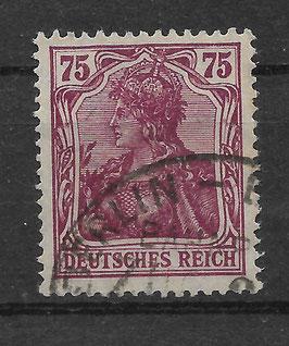 Deutsches Reich GERMANIA 148 I gestempelt (BPP BAUER)