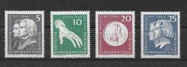 DDR 857-860 postfrisch
