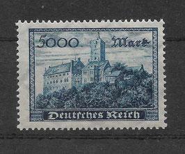 Deutsches Reich FREIMARKE 261b postfrisch (BPP PESCHL)