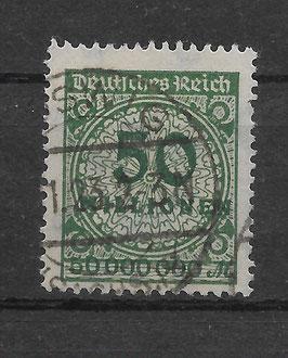 Deutsches Reich FREIMARKE 321 APa gestempelt (BPP BAUER)