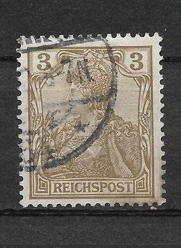 Deutsches Reich REICHSPOST 54a gestempelt (BPP JÄSCHKE) (II)