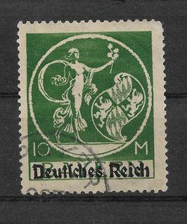 Deutsches Reich ABSCHIEDSSERIE 137 II gestempelt (Befund BPP BAUER) (II)