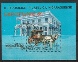 NICARAGUA Block 160 gestempelt