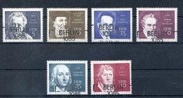 DDR 1534-1539 gestempelt