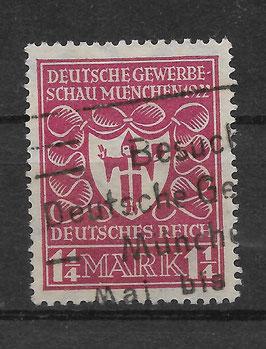 Deutsches Reich GEWERBESCHAU 199a gestempelt (BPP BAUER)