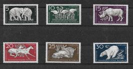 DDR 551-556 postfrisch
