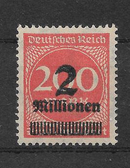 Deutsches Reich FREIMARKE 309 AWb postfrisch (INFLA) (3)