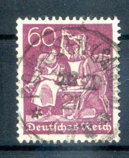 Deutsches Reich FREIMARKE 165 gestempelt