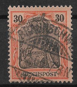 Deutsches Reich REICHSPOST 59 gestempelt (6)