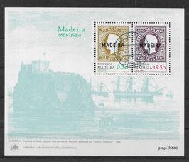 Madeira Block 1 gestempelt