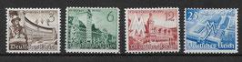 Deutsches Reich LEIPZIGER FRÜHJAHRSMESSE 739-742 postfrisch (3)
